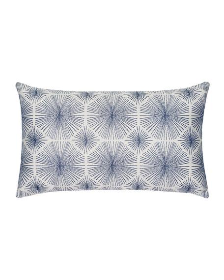 Radiance Lumbar Sunbrella Pillow, Indigo
