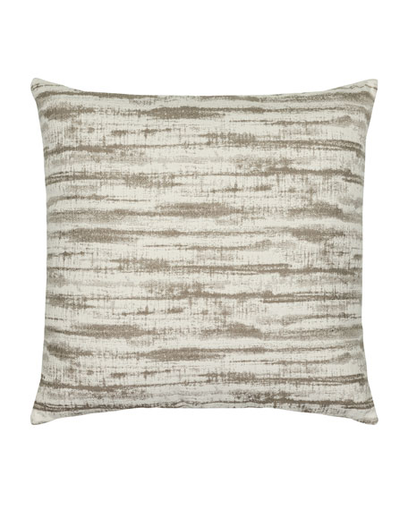 Linear Sunbrella Pillow, Taupe