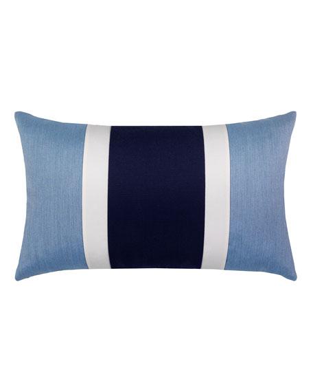Nevis Lumbar Sunbrella Pillow