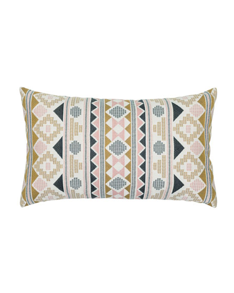 Roca Stripe Lumbar Sunbrella Pillow