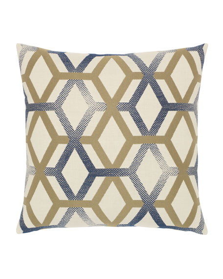 Elaine Smith Luminous Lines Sunbrella Pillow