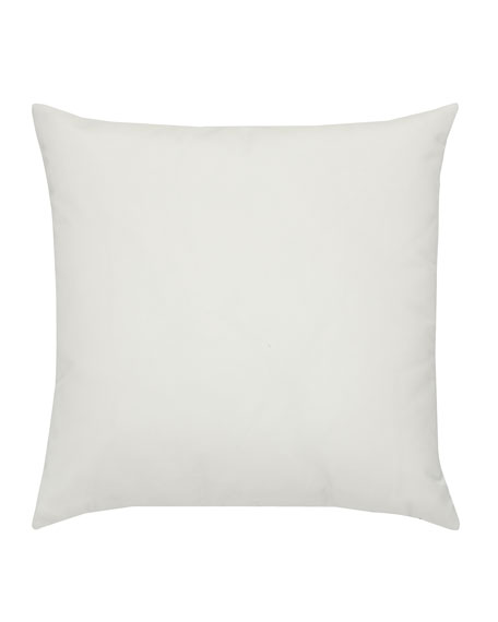 Metallic Check Sunbrella Pillow