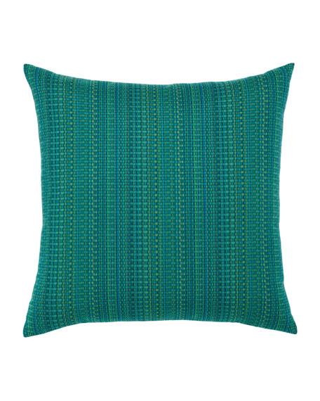 Eden Texture Sunbrella Pillow, Blue