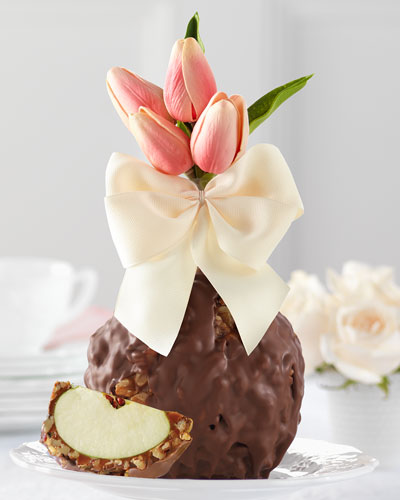 Milk Chocolate Walnut Pecan Spring Tulips Jumbo Caramel Apple