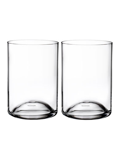 Elegance Double Old Fashioned Glasses  Set of 2