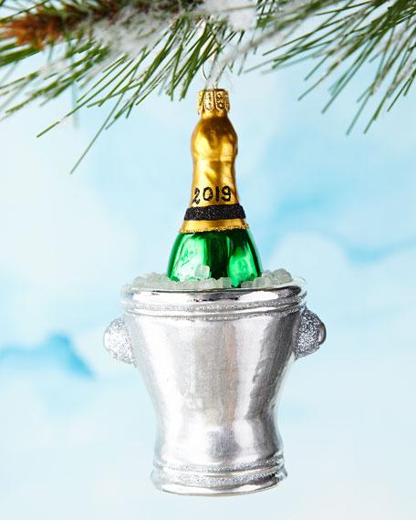 Champagne Bucket 2019 Ornament