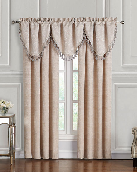Gisella Cascade Valance, Set of 3