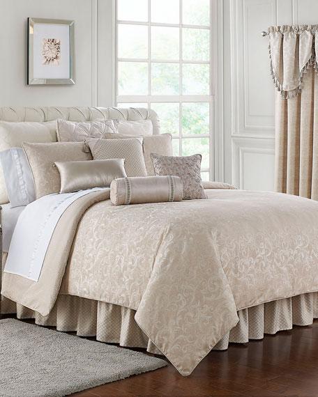 Gisella 4-Piece Reversible King Comforter Set