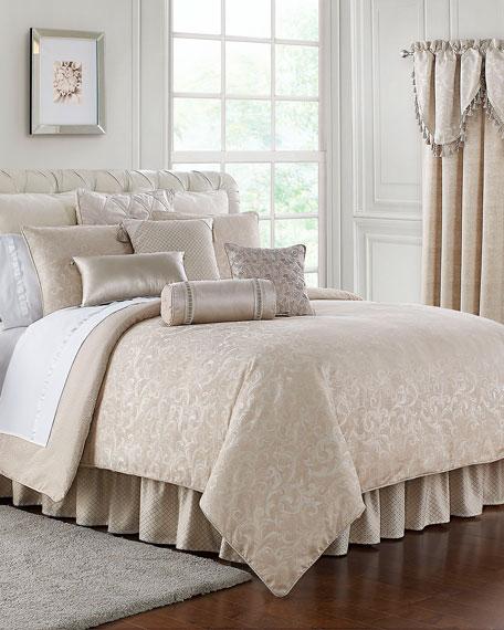 Gisella 4-Piece Reversible California King Comforter Set