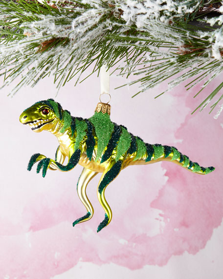 Dino Christmas Ornament