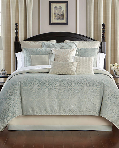 Daphne Reversible 4-Piece King Comforter Set