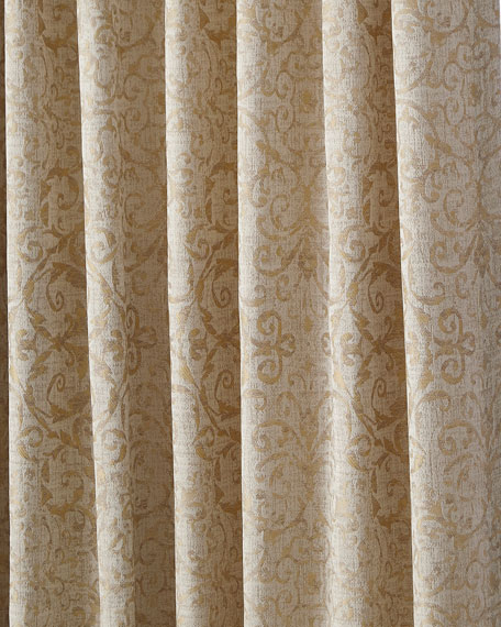 Renly Back Tab Curtain Panel, 108""