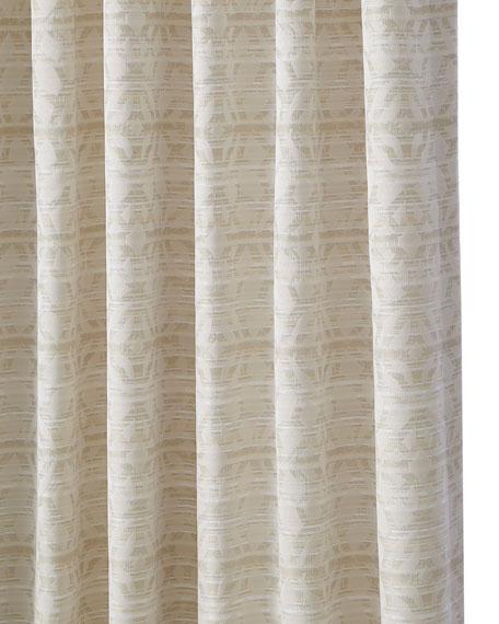 "Astrid Back Tab Curtain Panel, 108"""