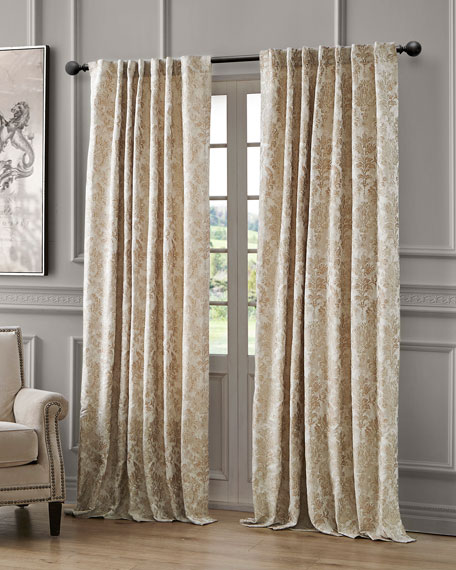 Juniper Back Tab Curtain Panel, 108""