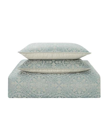 Daphne Reversible 4-Piece California King Comforter Set