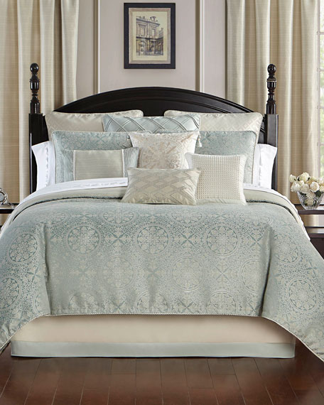 Daphne Reversible 4-Piece California King Comforter Set