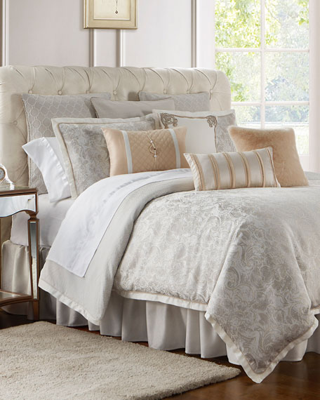 Belissa Reversible 4-Piece King Comforter Set