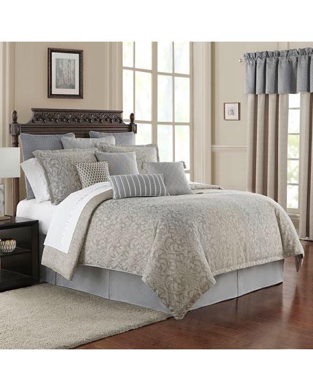 Baylen Reversible 4-Piece Queen Comforter Set