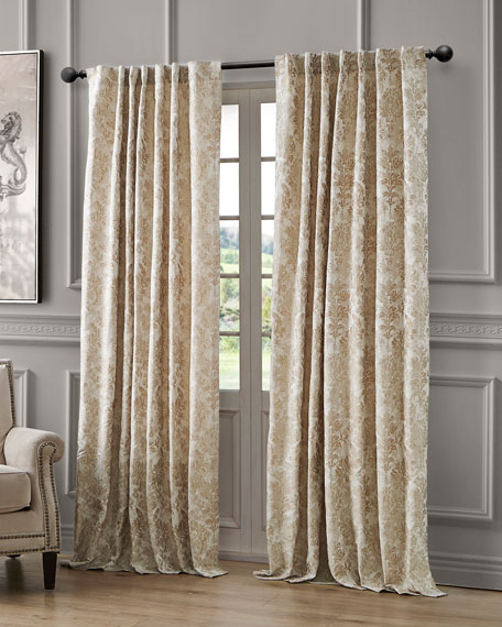 Juniper Back Tab Curtain Panel, 96""