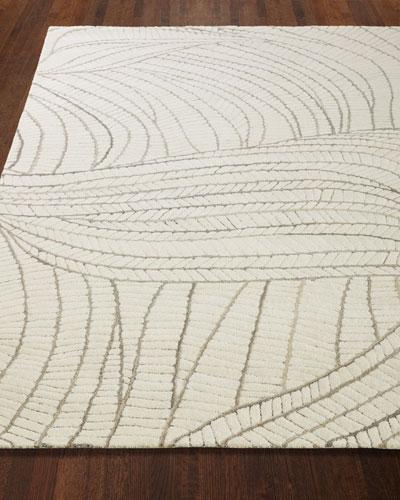 Ridges Hand-Tufted Rug  6' x 9'