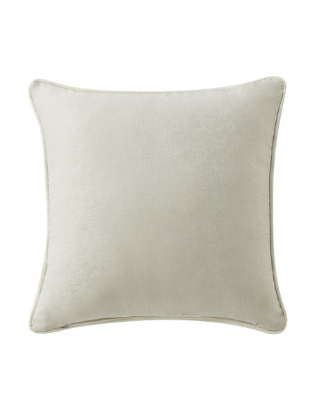 Daphne Embroidered Square Pillow