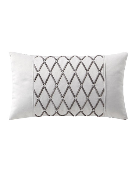 Aidan Embroidered Pillow