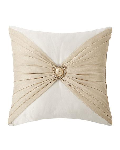 Shelah Pleated Square Pillow