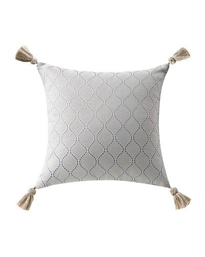 Baylen Square Pillow w/ Tassel Trim