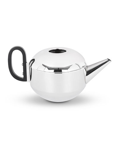 Stainless Steel Form Teapot