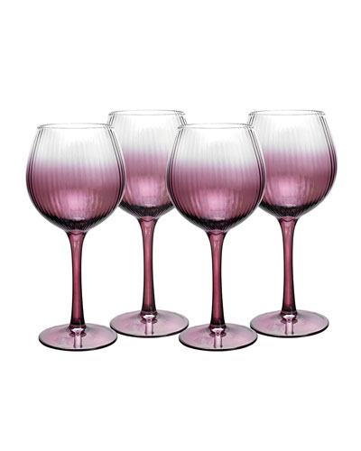 Kingsley Wine Glasses  Set of 4