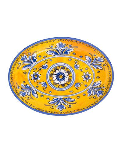 Jardin Oval Platter