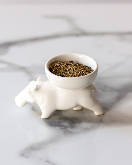 Huberta Small Bowl, White
