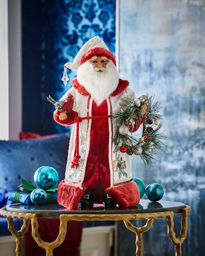 Winter Serenity Santa