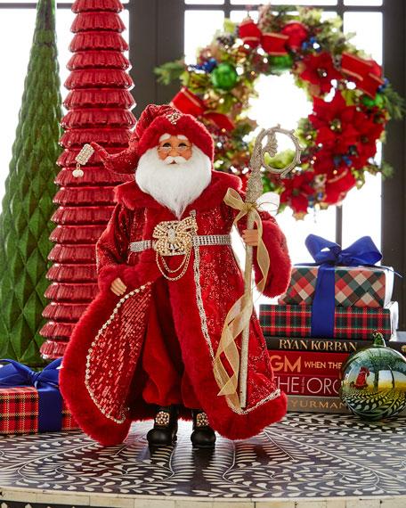 Karen Didion Originals Scarlet Santa Shine