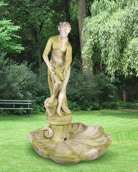 Venus Bath Fountain on Shell