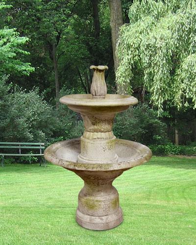 Balustrade 2-Tier Fountain