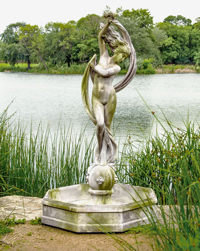 Water Venus with Fountain Bowl