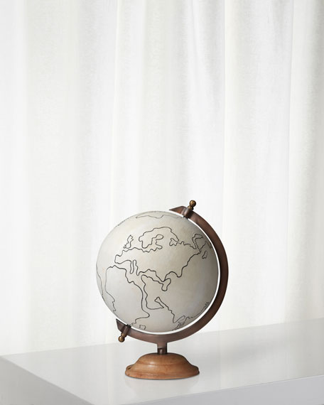 Canvas Globe Large in Canvas
