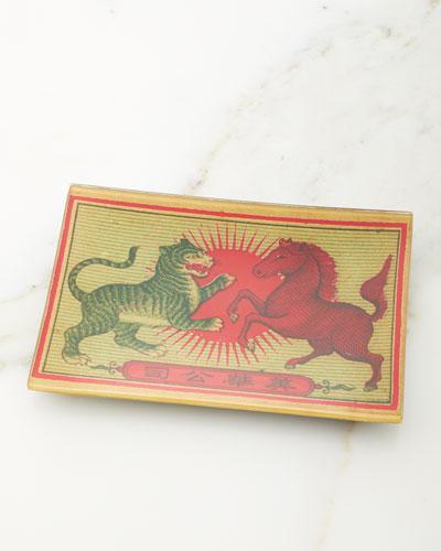 Tiger & Horse Tray