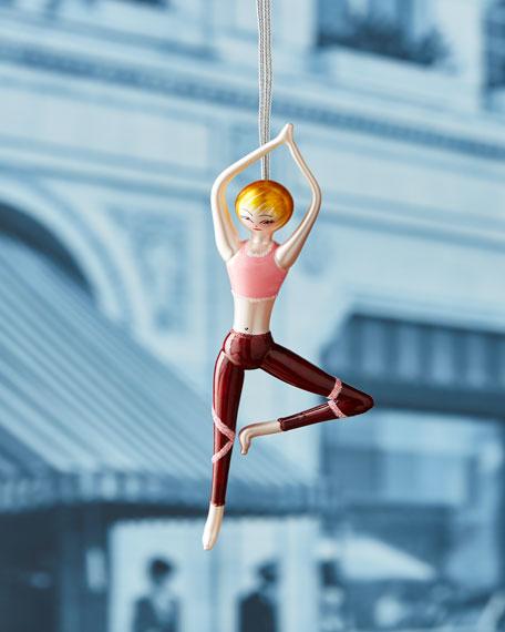 De Carlini Michelle Standing Yoga Ornament
