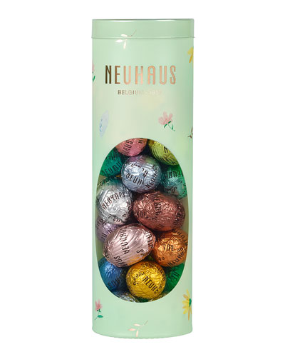 27-Piece Chocolate Easter Egg Cello Tube