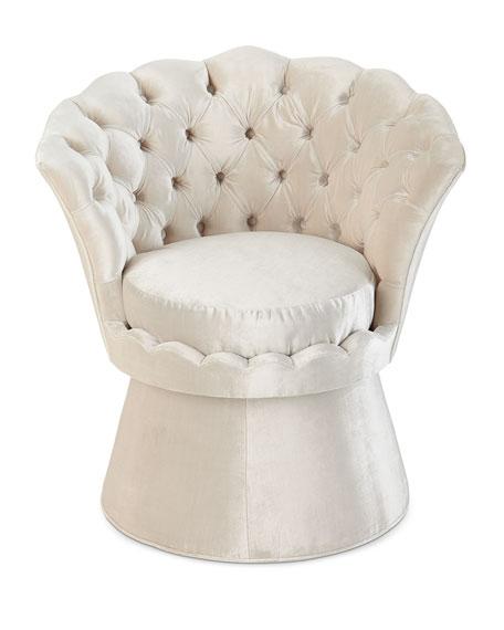 Oralia Tufted Vanity Chair