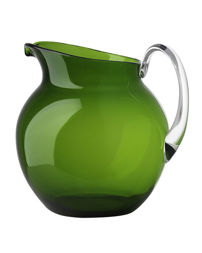 Palla Transparent Acrylic Pitcher