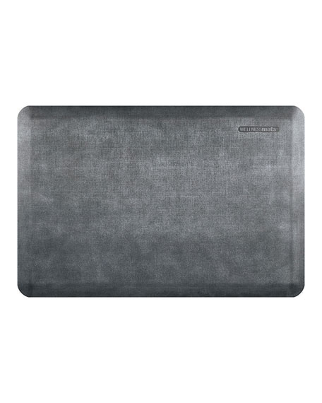 Linen Anti-Fatigue Kitchen Mat, 3' x 2'