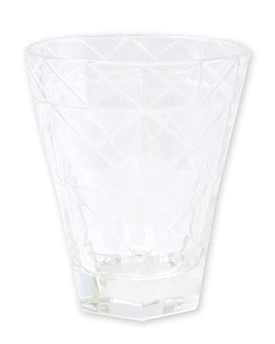 Prism Short Tumbler  Clear