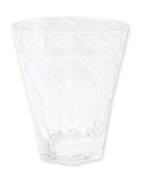 Vietri Prism Short Tumbler, Clear