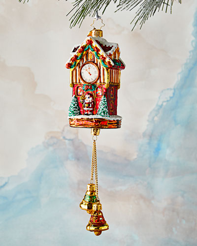 Joyful Christmas Clock Ornament