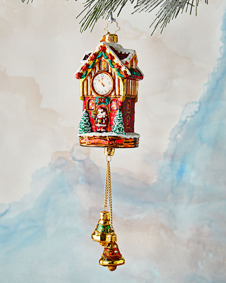 Joyful Christmas Clock Ornament