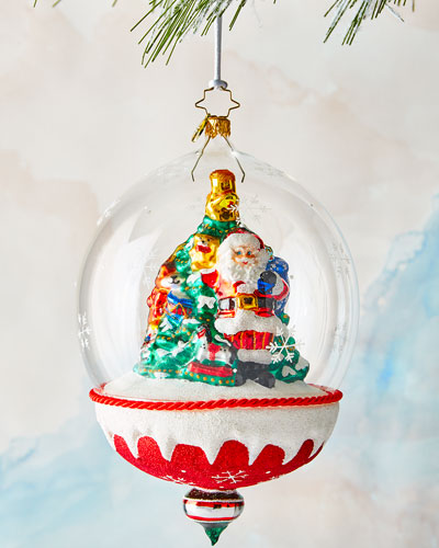Snow Dome of Toys Ornament