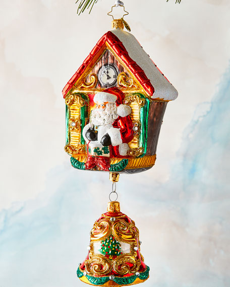 Christopher Radko Its Christmas Chime Ornament